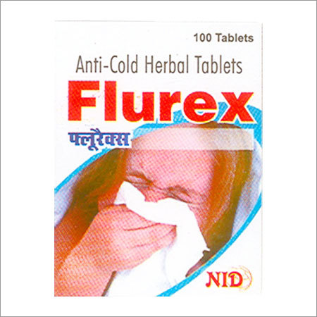 anti-cold herbal tablets manufacturer, supplier in India
