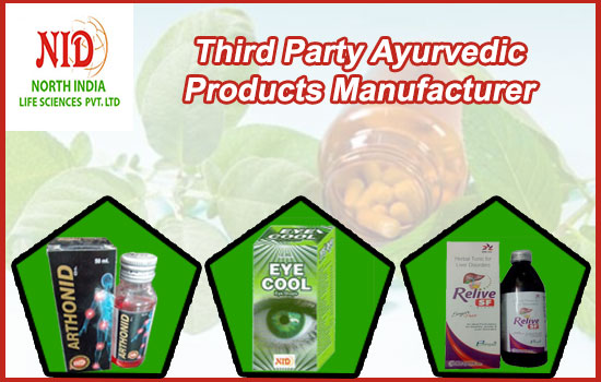 Third Party Ayurvedic products manufacturing
